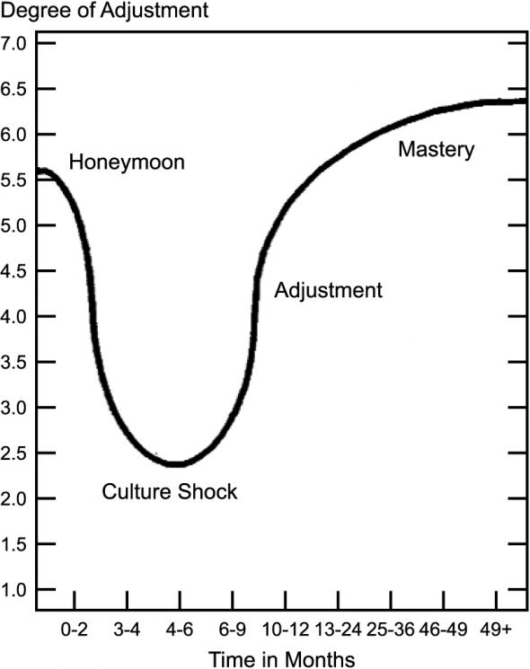 The U-Curve of Cultural Adaptation in CityKinder German Blog CityExperten