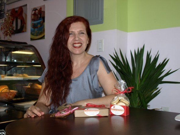 Daniela Gottfried Olotu from Servus Cookies in CityKinder Blog CityPortraits