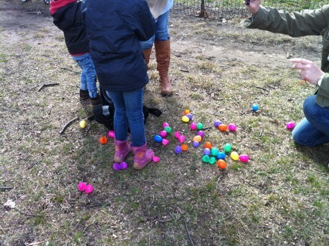 Easter Egg Hunt as a CityKinder German Family Event called Ostern