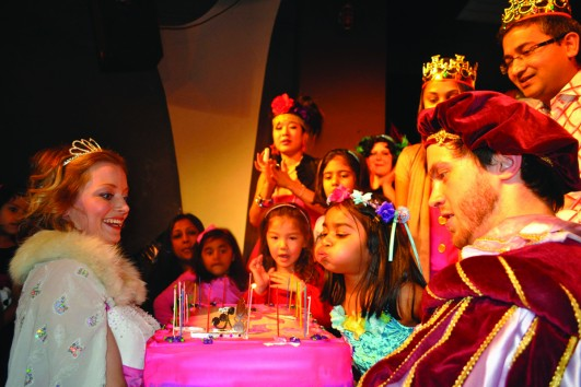Celebrate your Birthday Party in the German Galli Theater New York