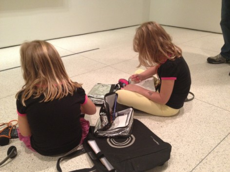 Kids in Guggenheim Museum New York in CityKinder German Blog CityErleben