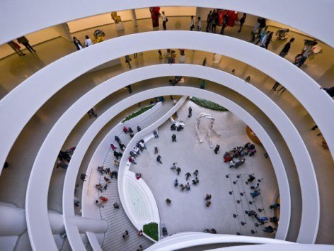 Guggenheim Museum New York in CityKinder German Blog CityErleben