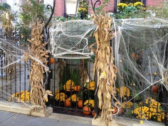 New York Yard Halloween in CityKinder German Blog CityErleben