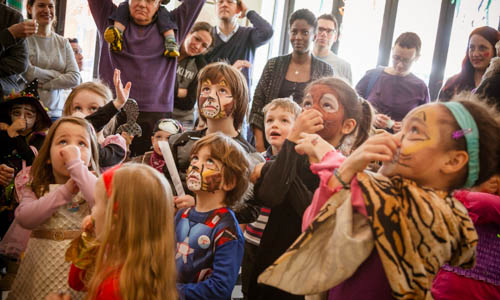 German Kids Karneval called Fasching as CityKinder Family Event in Brooklyn