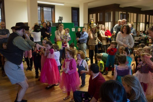 German Kids Karneval called Fasching as CityKinder Family Event in Manhattan