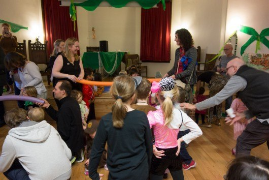 German Kids Karneval called Fasching as CityKinder Family Event in Manhattan