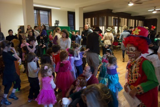 CityKinder Jungle themed Karneval Party 2014 for German Kids in Manhattan New York