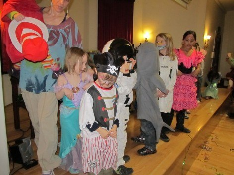 CityKinder Unterwasserwelten themed Karneval Party 2013 for German Kids in Manhattan New York