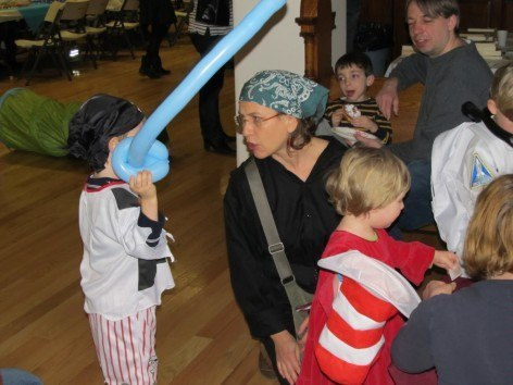 CityKinder Unterwasserwelten themed Karneval Party 2013 for German Kids in Manhattan New York