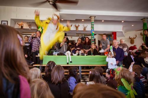 German Kids Karneval called Fasching as CityKinder Family Event in Brooklyn