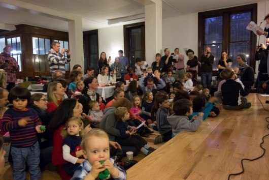 Nikolaus Party 2012 as a German CityKinder Family Event in Manhattan, New York