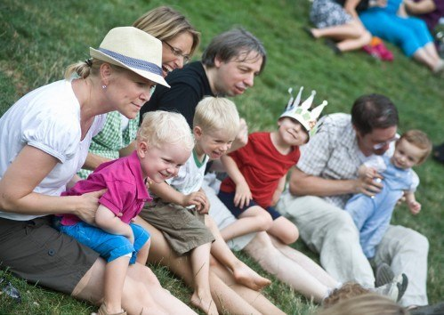 Summer Family Picnic 2012 in Central Park as a CityKinder German Event New York