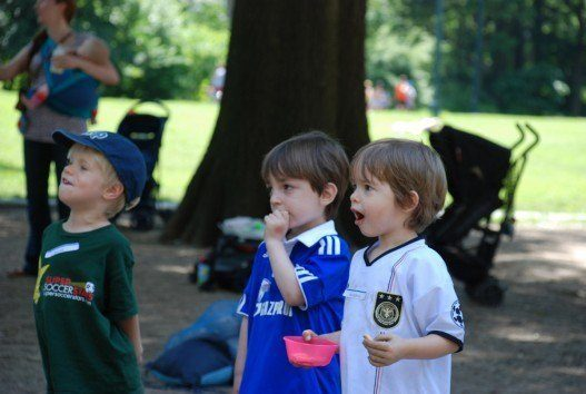 Super Soccer Stars Summer Class 2012 in Central Park, New York