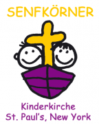 Senfkörner Logo from the Children Church of St. Pauls German Church Manhattan NY