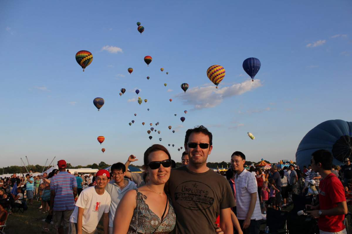 balloon festival in New Jersey
