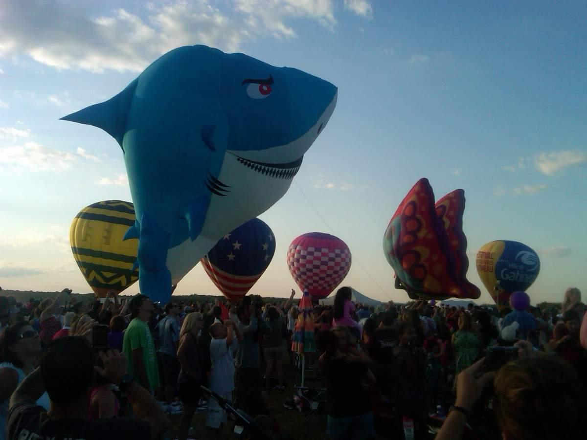 Balloon shark