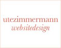Ute Zimmermann Web Site Design Logo