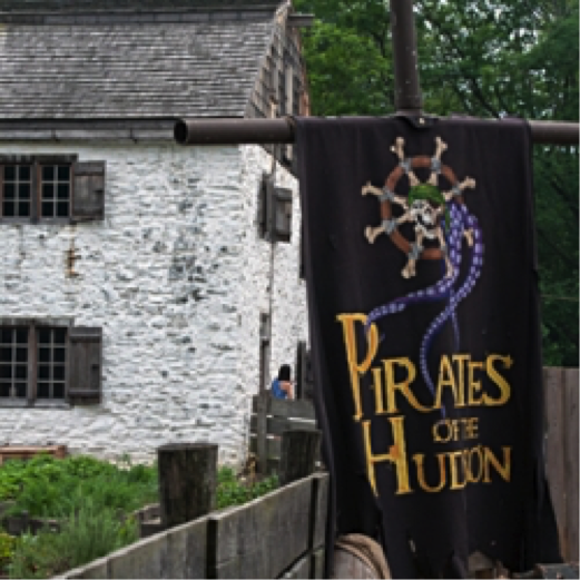 Pirates of the Hudson Flag | City Kinder