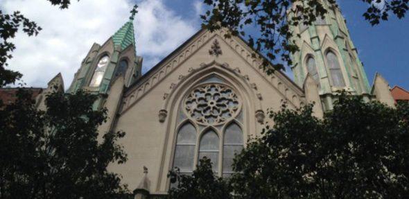 St. Pauls church fassade   City Kinder