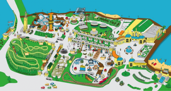 Rye Playland Park Map | City Kinder