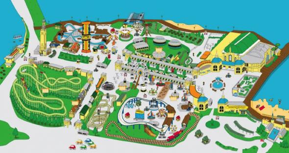 Rye Playland Park Map | City Kinder
