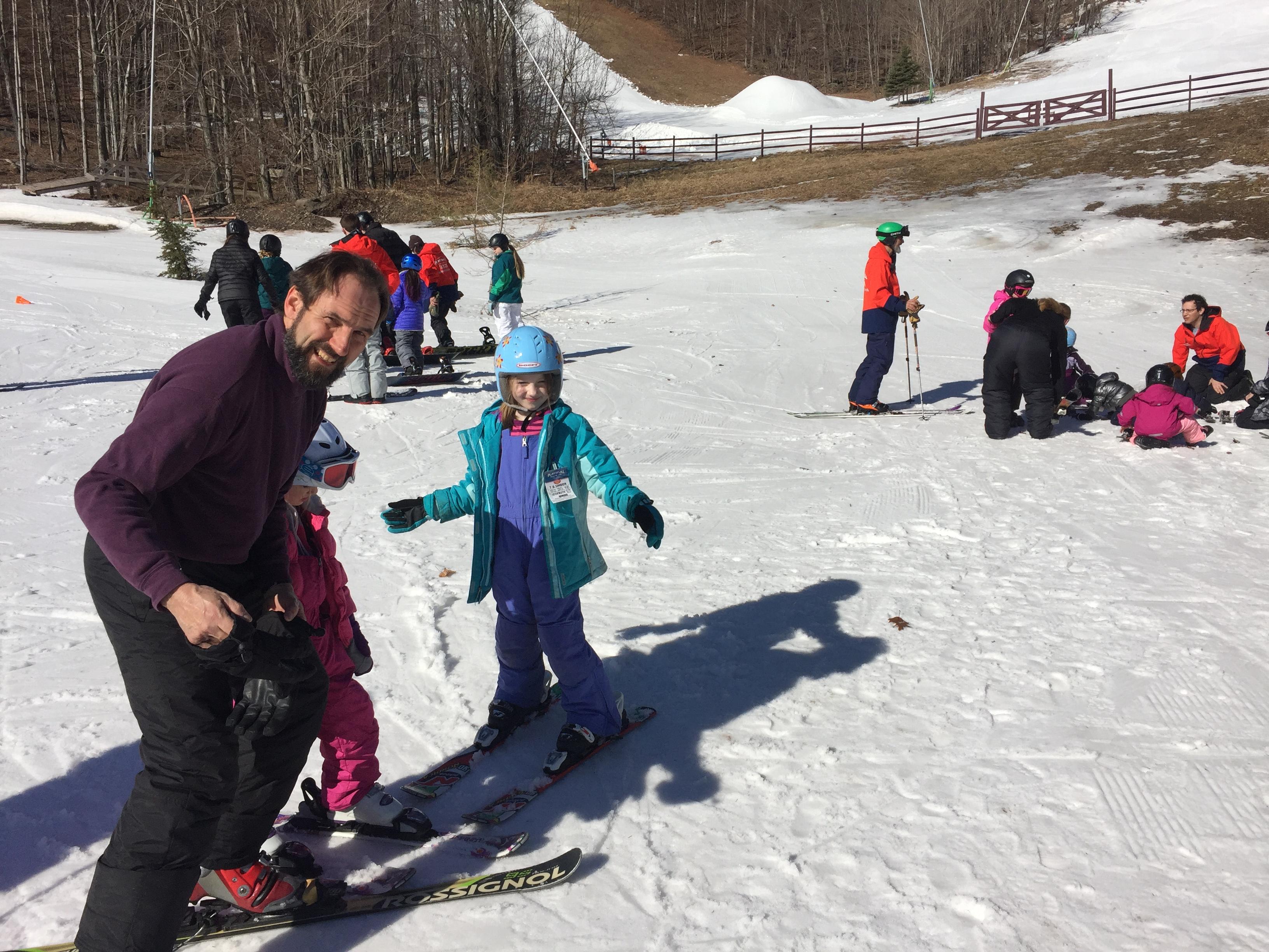 Schwanger Skifahren