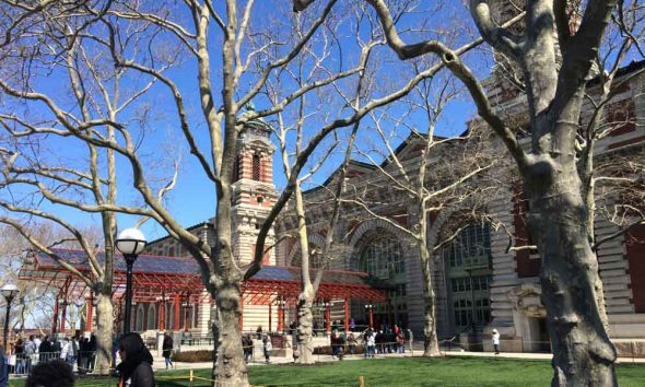 Visitor Center at Ellis Island, New York, USA