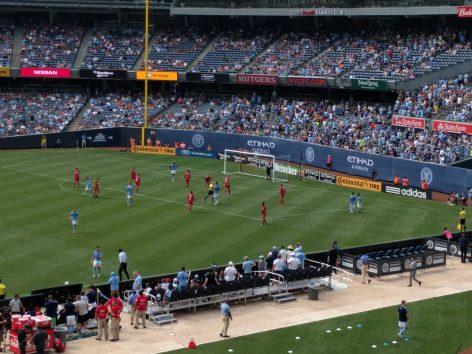 Mit CityKinder ins Fußballstadion -NYCFC vs Chicago Fire